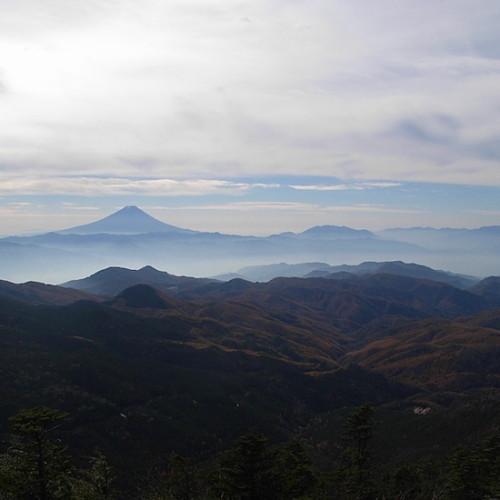 金峰山の山頂