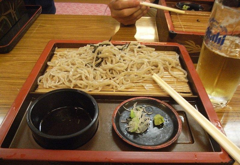 武甲山の蕎麦