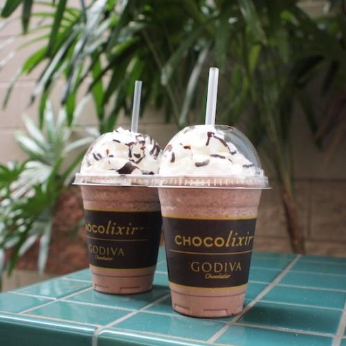 ゴディバのチョコレートドリンク