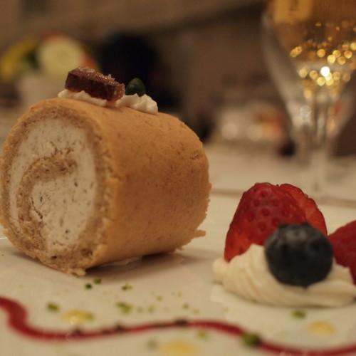 椎茸のロールケーキ