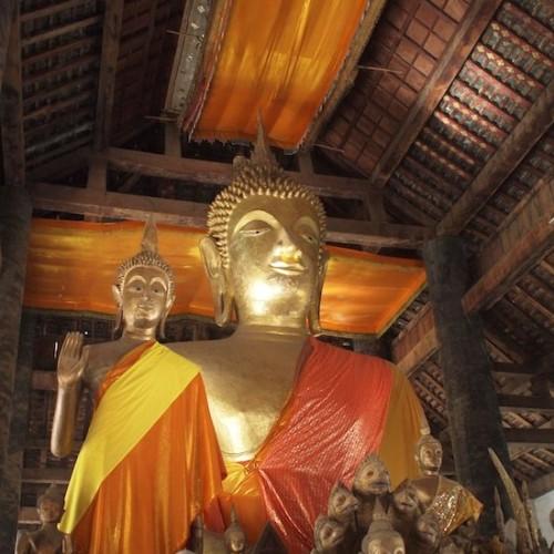 ラオスの寺院