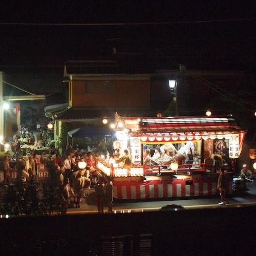 水戸の秋祭り