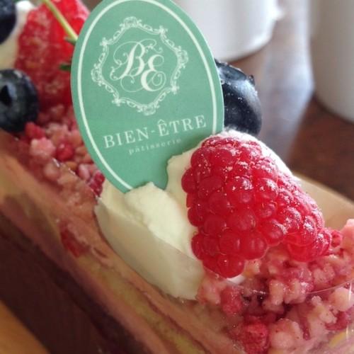 ビアンネートルのケーキ