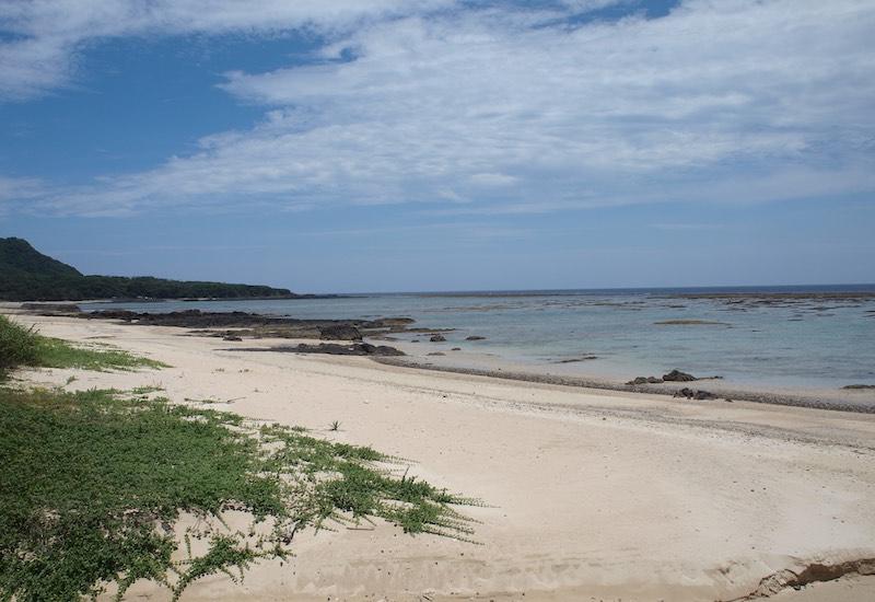 奄美大島の海岸