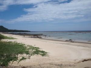 用安のビーチ