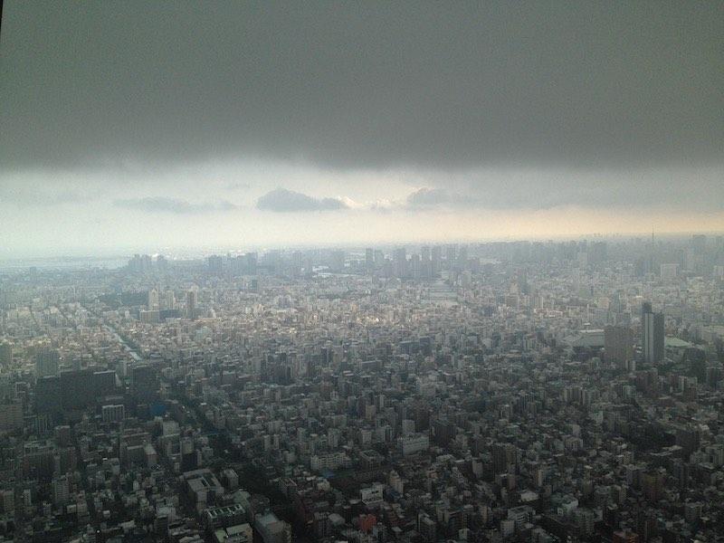 東京スカイツリー(展望デッキ)