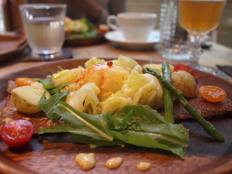 「Agato」の野菜ガレット