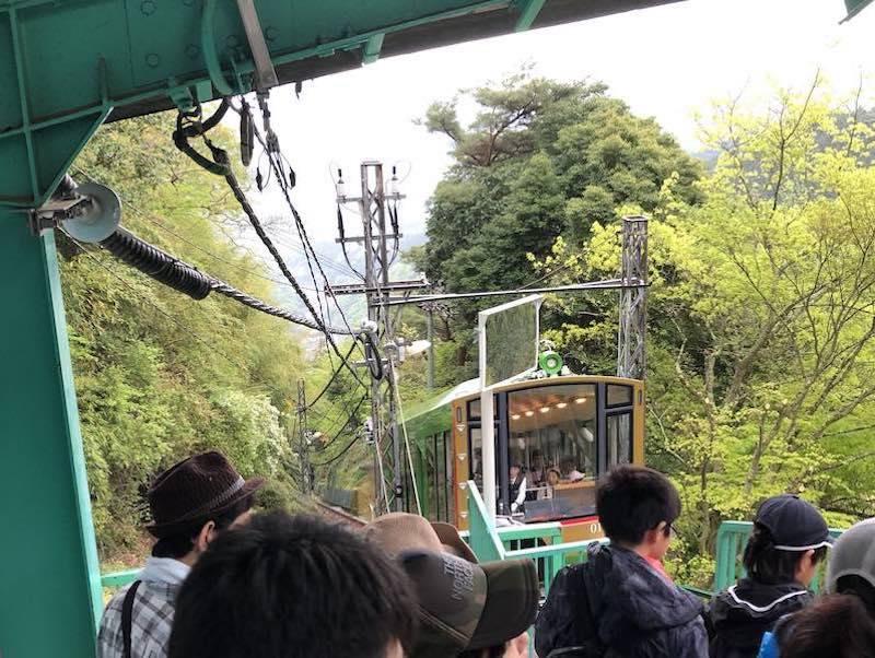 大山ケーブルカー