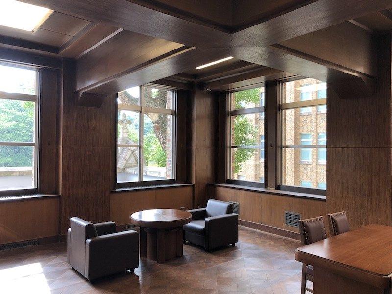 港区立郷土歴史館の旧院長室