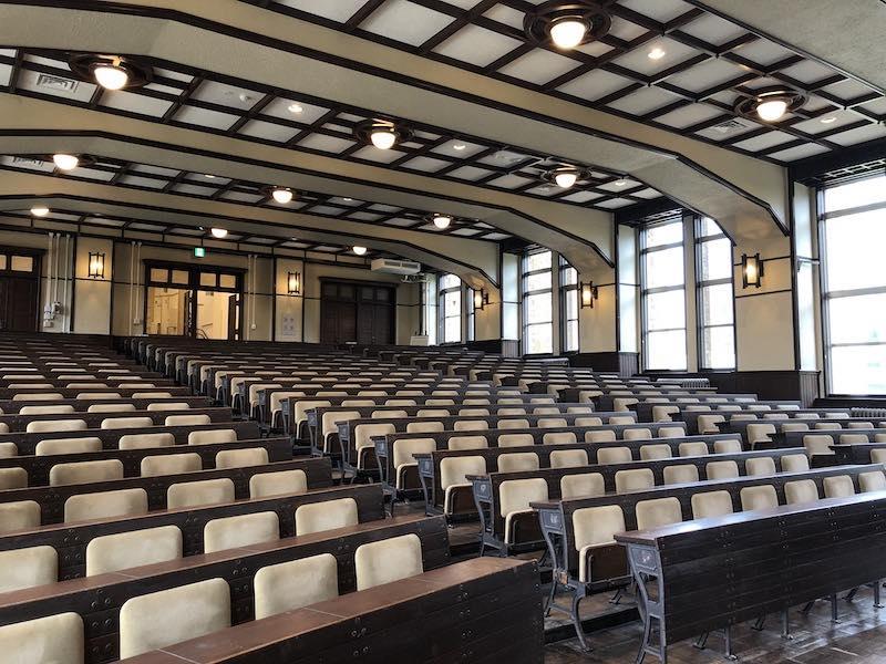 港区立郷土歴史館の旧講堂