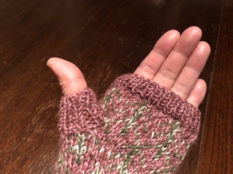 ひーちゃんの指なし手袋05