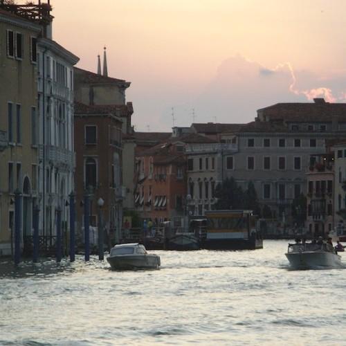 ヴェネツィアの夕景