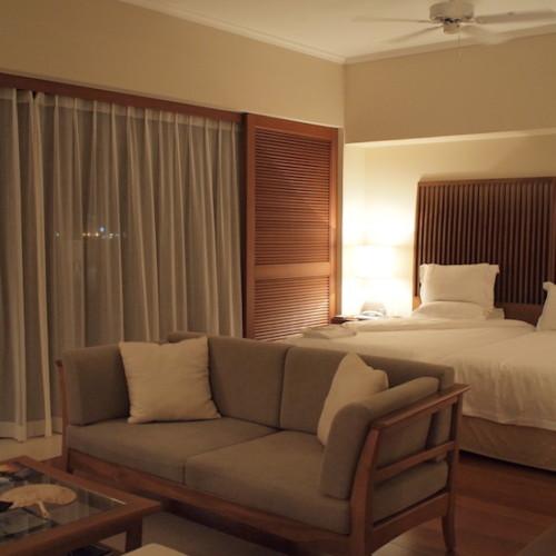 名護のリゾートホテル