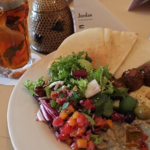 ヨルダンの朝食