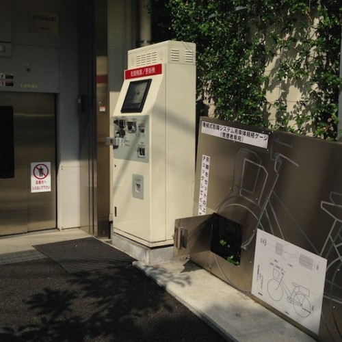下北沢の駐輪場