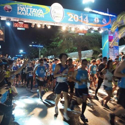 パタヤマラソン2014
