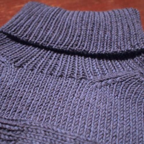 予定より大きいセーター