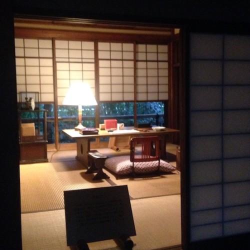 林芙美子の書斎